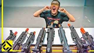 World's Largest Airsoft Rifle!