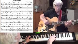 Smoke Rings - Jazz guitar & piano cover ( Eugene Gifford )