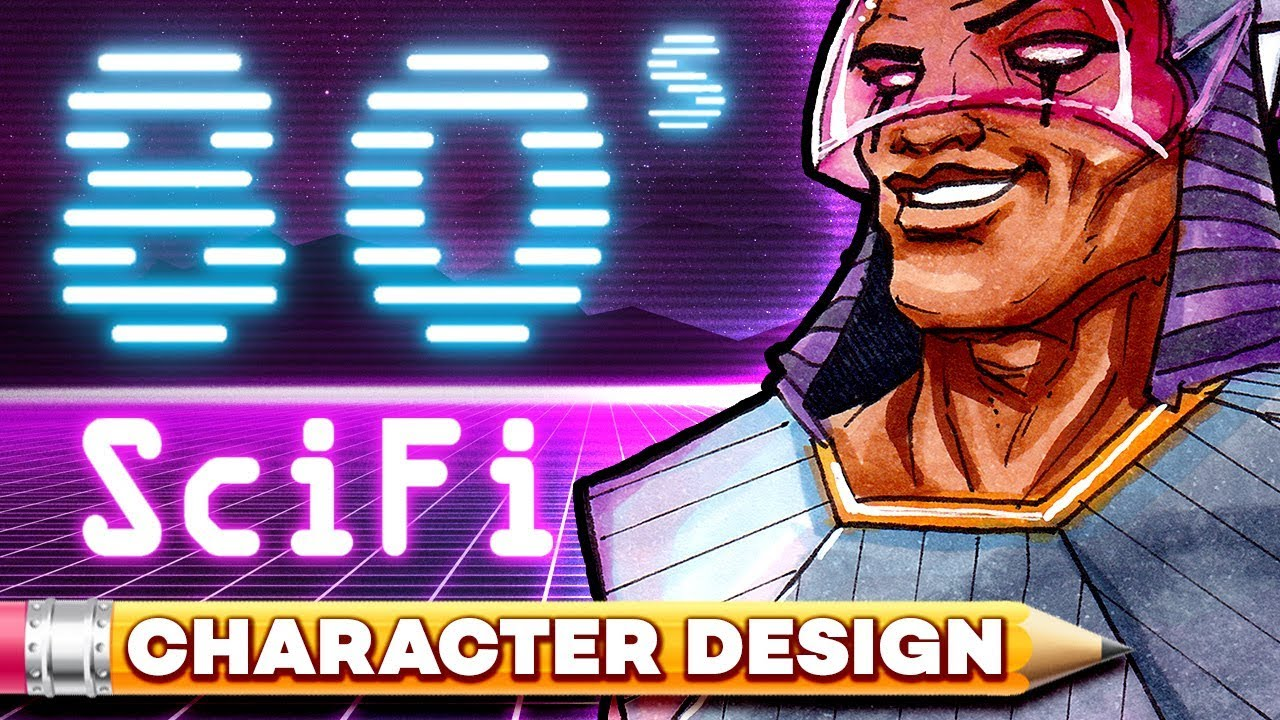 Character Design Session : S scifi egyptian character design session youtube