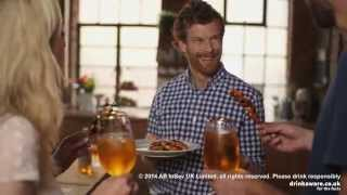 Tom Aikens Serves Chicken Skewers for Stella Artois UK