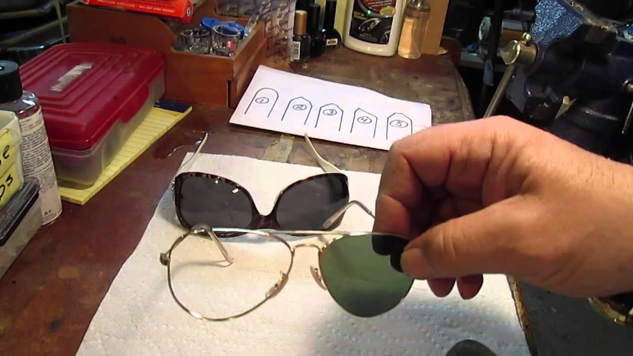 c4dd16d189fb Lens Popped Out of Glasses - Repair Framefixers Long Version - YouTube