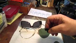 Lens Popped Out of Glasses - Repair Framefixers Long Version