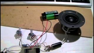 エアバンド(航空無線)の受信音を自作ディストーションで歪ませてみま...