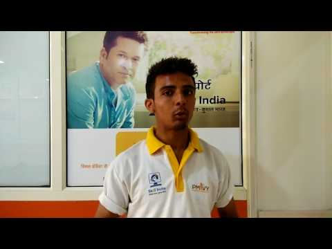 Kartik Chaudhary, Solar Panel Installation Technician, Mahadev Educational Society, Bijnor