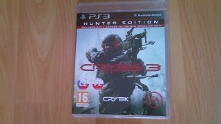 Crysis 3 - Unboxing PL (Hunter Edition na PS3)