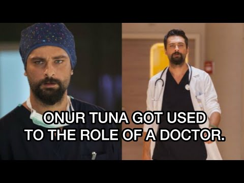 ONUR TUNA GOT USED TO THE ROLE OF A DOCTOR. Onur Tuna. Turkish actors. Turkish series. Turkish films