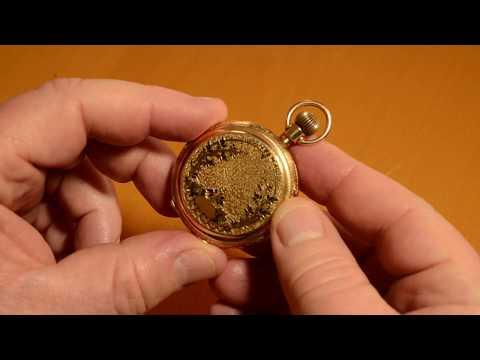 Lever Set Hunting Case Pocket Watch