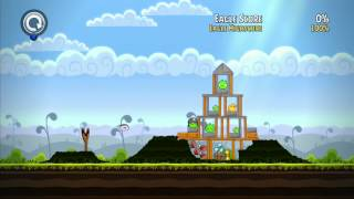 Angry birds Trilogy - 100% Mighty Eagle Score - Mighty Hoax Level 4-1 to 4-21