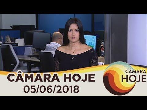 Câmara Hoje - MP de ajuda a refugiados é primeiro item da pauta | 05/06/2018