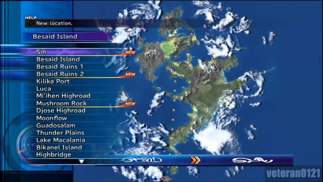 Final Fantasy X World Map.Final Fantasy X Remaster Part 63 Al Bhed Codes Youtube