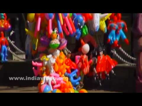 Street shops for toys at Ridge road, Shimla