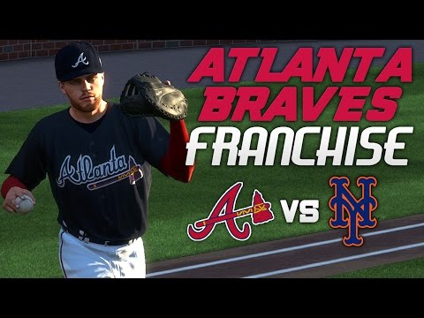 MLB The Show 17: Braves Franchise @ Mets [G1 S1, Ep. 2] - OPENING DAY