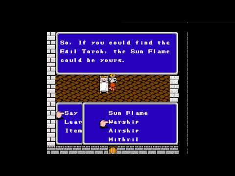 Final Fantasy II (NES) PT006 Raw Sewage