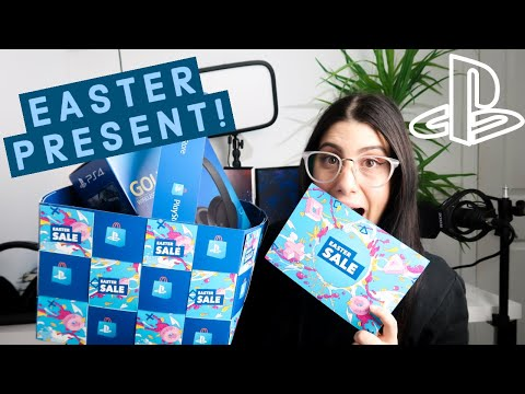playstation-easter-present-unboxing-|-liessshy