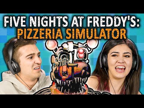 FIVE NIGHTS AT FREDDYS: PIZZERIA SIMULATOR | FNAF 6 (React: Gaming)