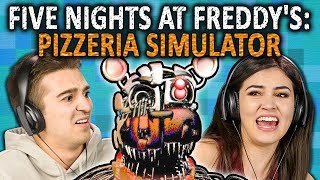 Download FIVE NIGHTS AT FREDDY'S: PIZZERIA SIMULATOR | FNAF 6 (React: Gaming) Mp3 and Videos