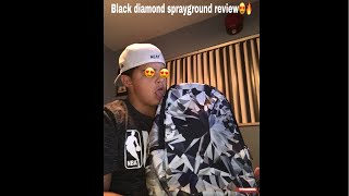 black diamond sprayground review😍🔥