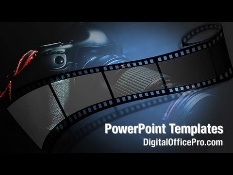 Camera Film Powerpoint Template Backgrounds Digitalofficepro