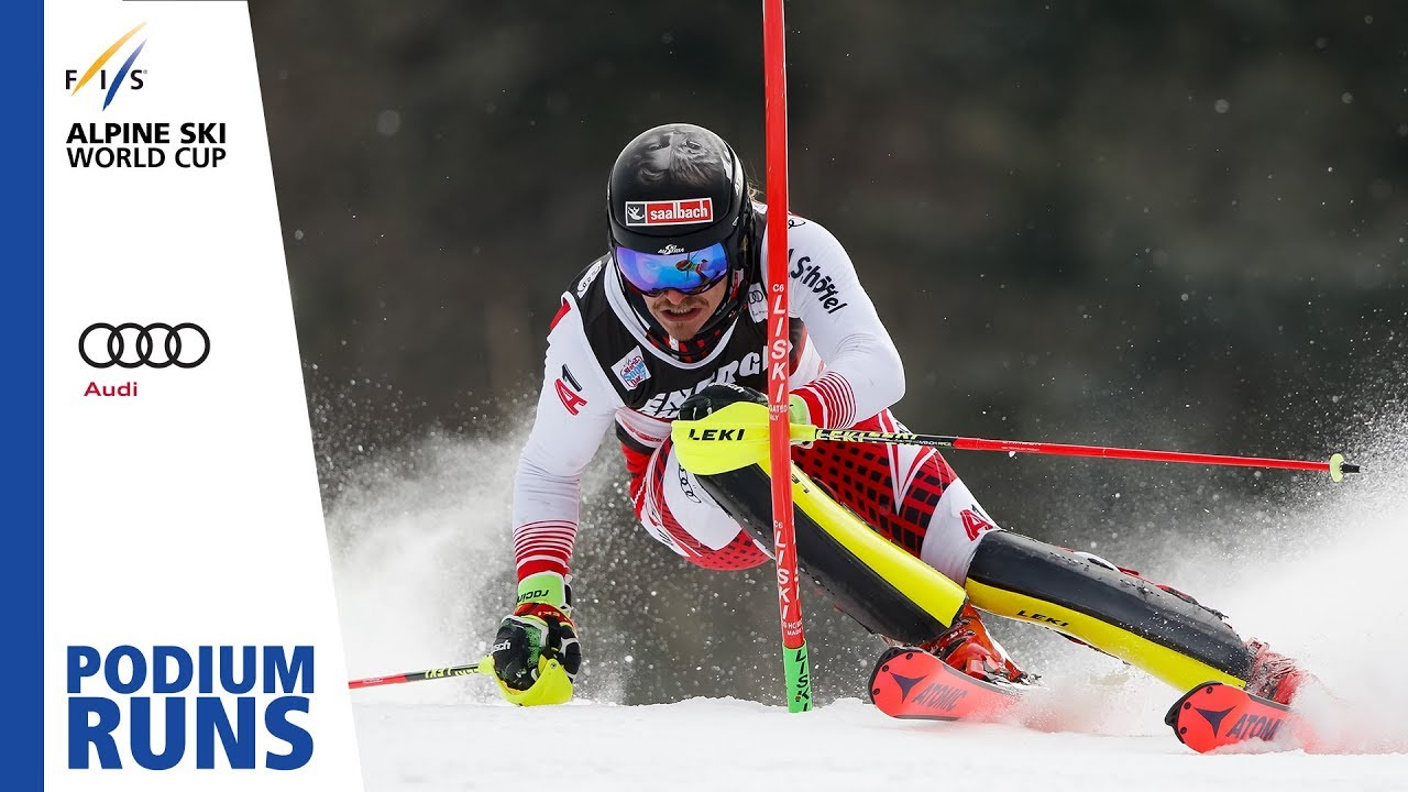Manuel Feller Men S Slalom Zagreb 3rd Place Fis Alpine Youtube