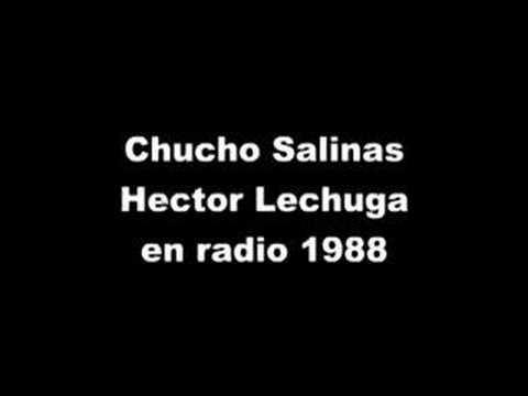 Hector Lechuga  con Chucho Salinas radio 1988