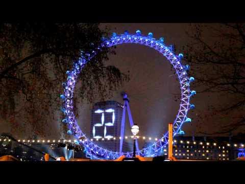 50s New Year Countdown 2011 - London Eye