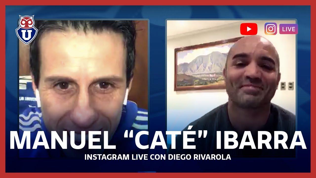 """Instagram Live: Diego Rivarola y Manuel """"Caté"""" Ibarra"""
