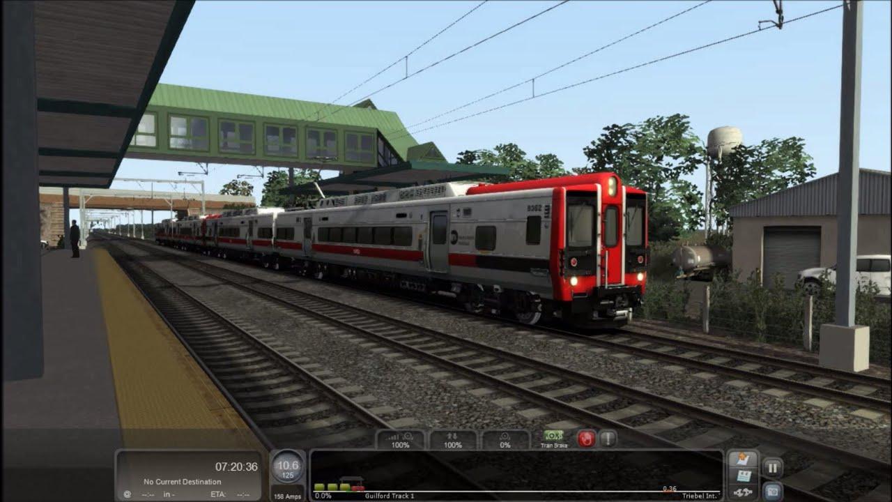 train simulator 2016 hd chasing kawasaki m8 emu set on shore line
