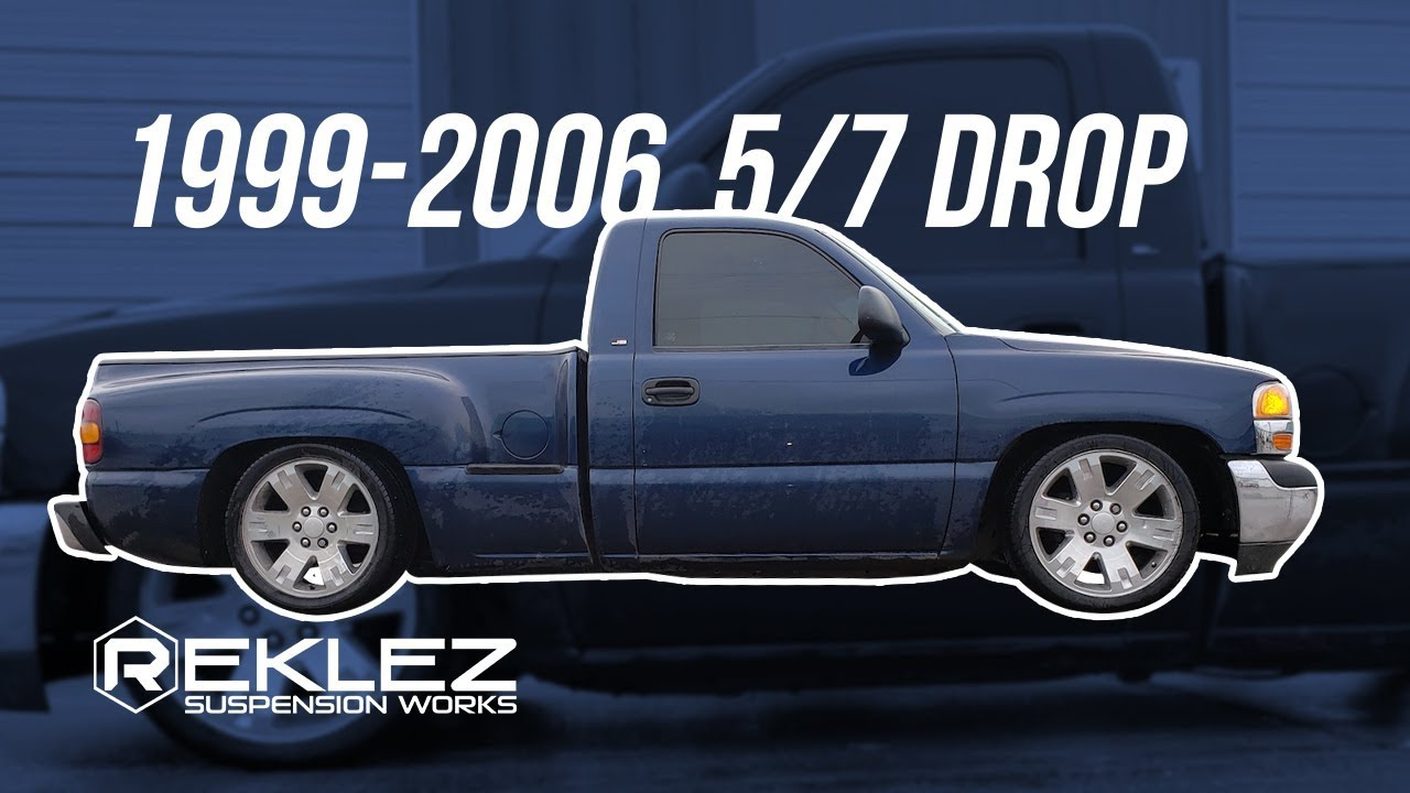 1999-2006 Sierra, Silverado 5/7 Drop Kit Installation, C ...