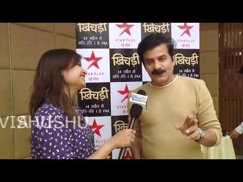 Jamnadas Majethia INTERVIEW   Khichdi 2 Serial Promotion in my show celeb meet