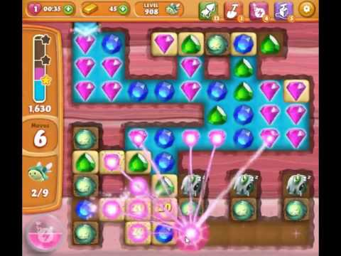 Diamond Digger Saga Level 908