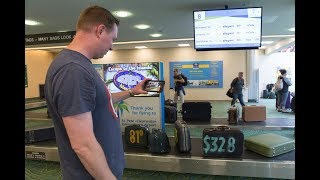 Video Baggage Claim Stunt Surprises Travelers at St. Pete/Clearwater Airport download MP3, 3GP, MP4, WEBM, AVI, FLV Agustus 2018