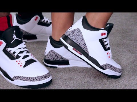 first rate aae4e 10dc2 Retail Release Air Jordan Retro 3 Infrared On Feet Sneaker Review