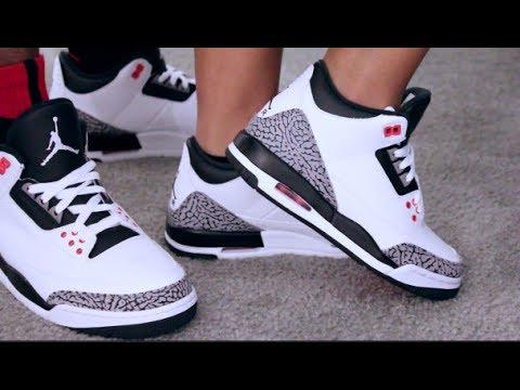 95e7eaf5010c1f Retail Release Air Jordan Retro 3 Infrared On Feet Sneaker Review ...