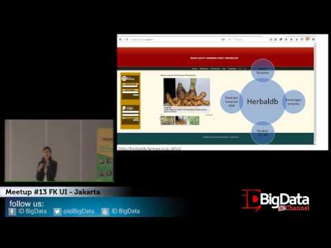 Meetup idbigdata #13 Fakultas Kedokteran UI - Jakarta - Linda Erlina, S.Farm., M.Farm.