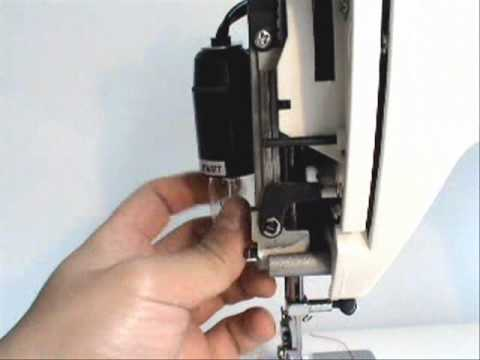 How To Change The Light Bulb On RS40 Series YouTube Adorable Kenmore Sewing Machine Light Bulb