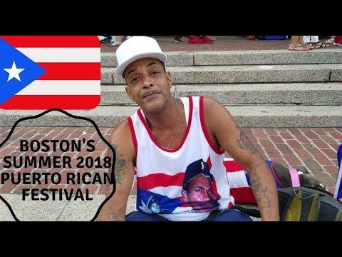 Boston's Summer 2018 Puerto Rican Festival