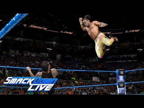 Xavier Woods vs. Jey Uso: SmackDown LIVE, July 11, 2017