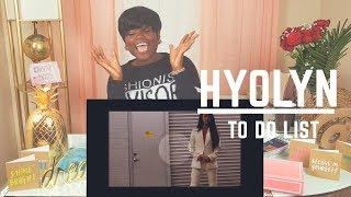 [REACTION VID] HYOLYN: To Do List M/V (YASSSS CEO KIM!!) - Stafaband