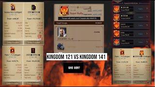 Clash Of Kings - Super Conquest - K121 vs K141 [PART 1]