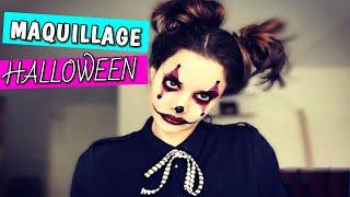 ♆ Maquillage Halloween : Clown rapide et facile ♆ (Céline)
