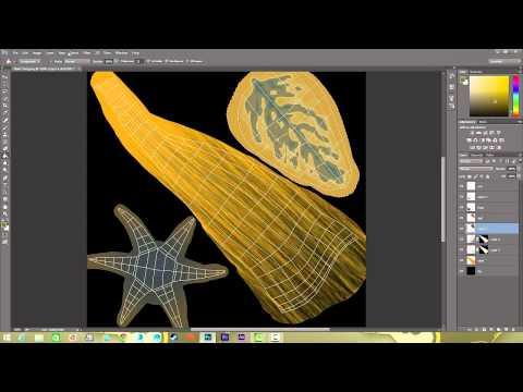 Organic Model Texture Creation