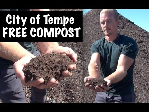 City of Tempe, Arizona Gives FREE COMPOST to its Residents - Awesome