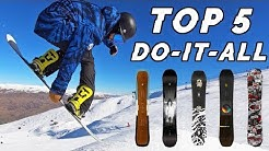 Top 5 Do-It-All Style Snowboards 2020