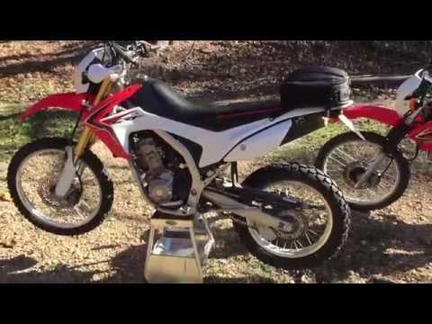 honda crfl shinko  series rear tire   sr youtube