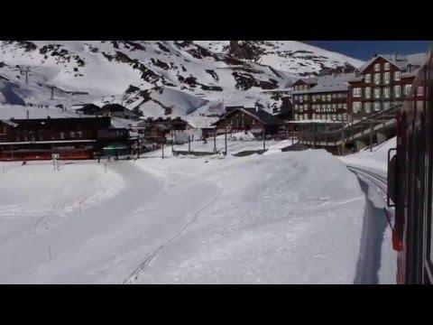 Kleine Scheidegg station from Jungfraubahn