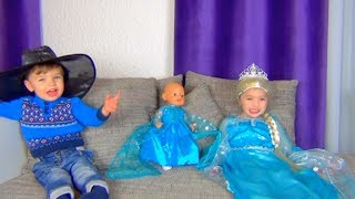 Funny stories with Princess Dominika and Rinat