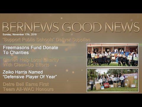 "Bernews ""Good News"" Sunday Spotlight, November 17, 2019"
