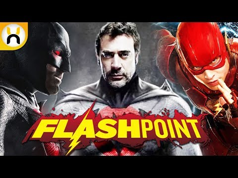 Jeffrey Dean Morgan Talks Suiting Up as Flashpoint Batman