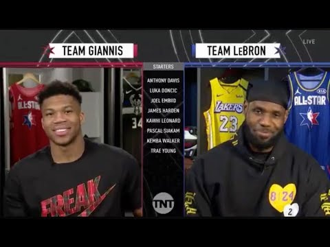 Team Giannis & Team LeBron Draft | 2020 NBA All-Star