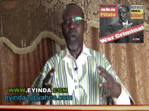 APPEAL TO AFRICANS: The terrorist genocidal PAUL KAGAME at OXFORD UNIVERSITY